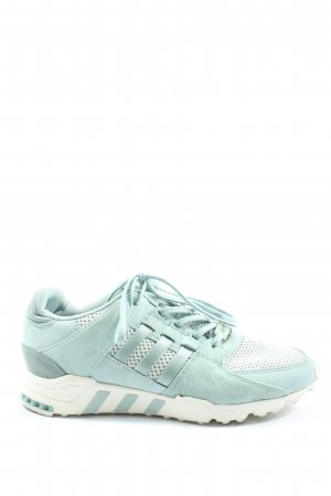 Adidas Lace-Up Sneaker turquoise-white casual look