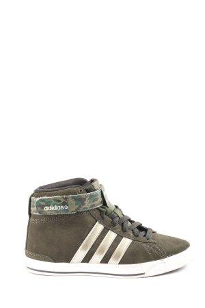 Adidas Schnürsneaker khaki Camouflagemuster Casual-Look
