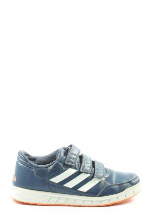 Adidas Sneaker Klettverschluss blau Casual-Look