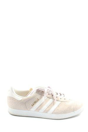 Adidas Schnürsneaker creme-weiß Streifenmuster Casual-Look