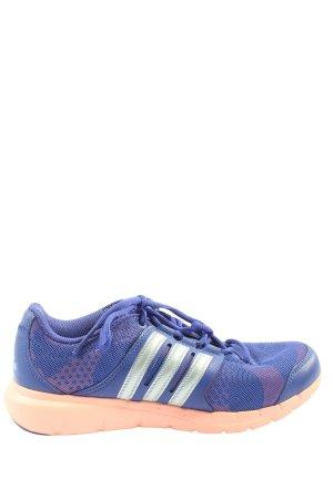 Adidas Schnürsneaker blau sportlicher Stil