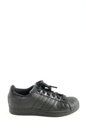 Adidas Schnürsneaker schwarz Motivdruck Casual-Look