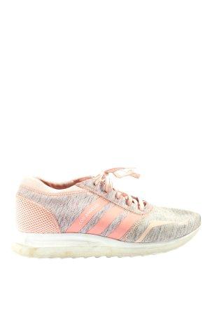 Adidas Schnürsneaker hellgrau-pink meliert Casual-Look