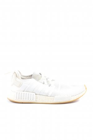 Adidas Zapatilla brogue blanco look casual