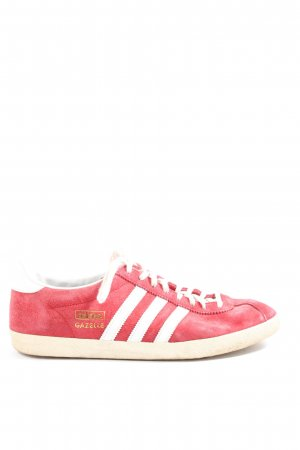 Adidas Lace-Up Sneaker red-white themed print casual look
