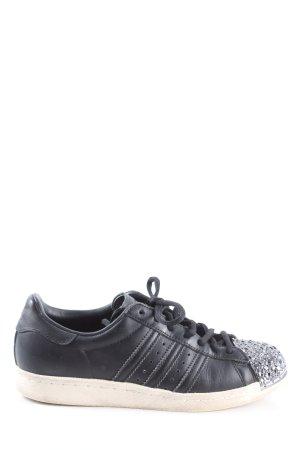 Adidas Sneaker stringata nero stile casual