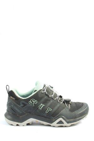 Adidas Schnürsneaker schwarz-türkis sportlicher Stil