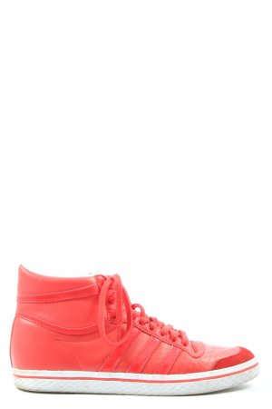 Adidas Lace-Up Sneaker red casual look