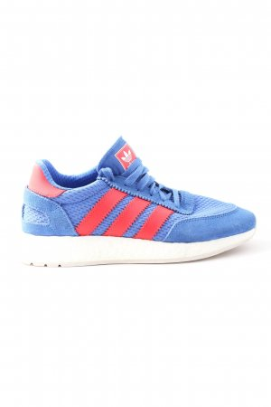 Adidas Lace-Up Sneaker blue-red casual look