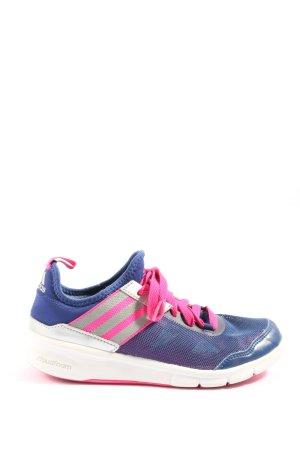 Adidas Schnürsneaker blau-pink Casual-Look