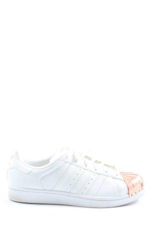Adidas Schnürsneaker weiß-nude Casual-Look