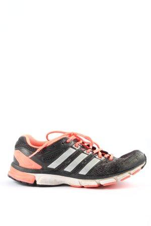 Adidas Schnürsneaker schwarz-pink Casual-Look