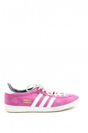 Adidas Lace-Up Sneaker pink-white casual look