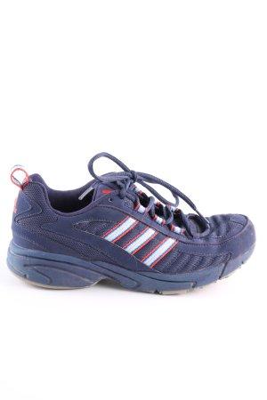 Adidas Schnürsneaker blau-rot sportlicher Stil