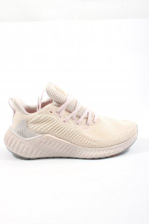 Adidas Schnürsneaker creme-pink, Gr. 39, sportlicher Stil