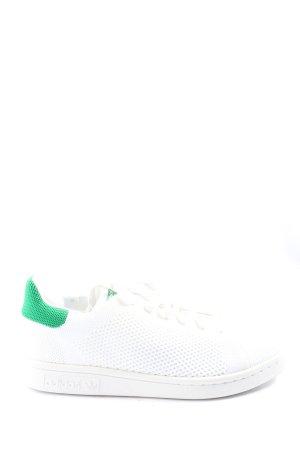 Adidas Schnürsneaker weiß-grün Casual-Look