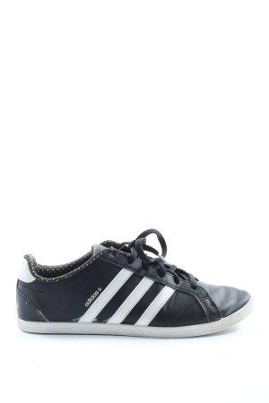 Adidas Schnürsneaker schwarz-weiß Casual-Look