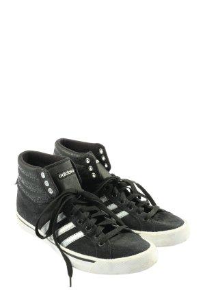 Adidas Schnürsneaker schwarz sportlicher Stil