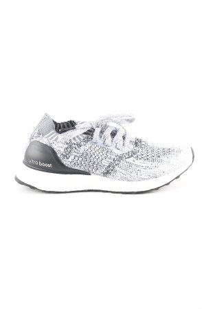 Adidas Schnürsneaker weiß-schwarz Allover-Druck Casual-Look