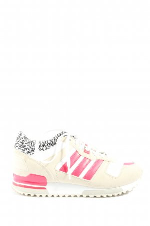 Adidas Lace-Up Sneaker cream-pink casual look