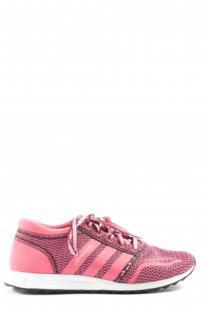 Adidas Lace-Up Sneaker pink-black allover print casual look