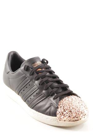 Adidas Schnürsneaker schwarz-roségoldfarben sportlicher Stil