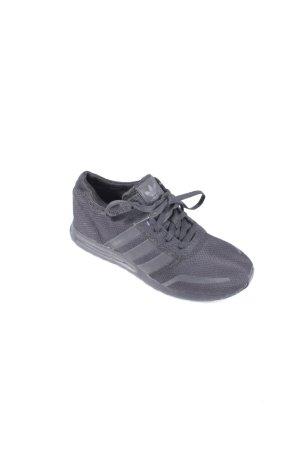 Adidas Schnürsneaker schwarz schlichter Stil
