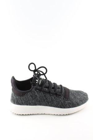 Adidas Schnürsneaker schwarz-weiß meliert Casual-Look