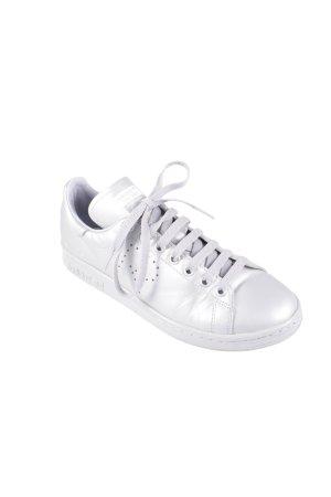 Adidas Schnürsneaker silberfarben sportlicher Stil