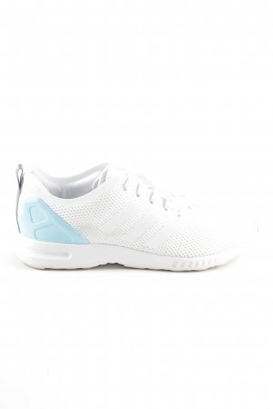 Adidas Schnürsneaker weiß-blau Casual-Look