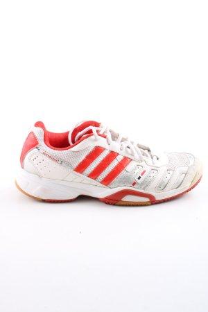 Adidas Schnürsneaker weiß-rot Casual-Look