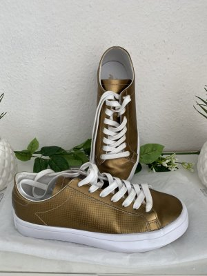 Adidas Heel Sneakers gold-colored