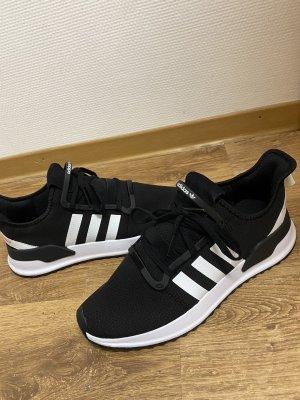 Adidas Basket à talon blanc-noir