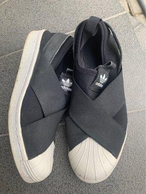 Adidas Slip-on Sneakers white-black