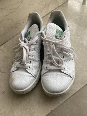 Adidas Stan Smith Adicolor Sznurowane trampki biały-leśna zieleń