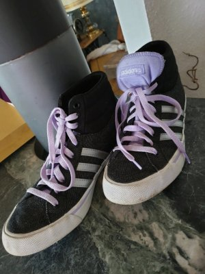 Adidas NEO Lace-Up Sneaker black-lilac