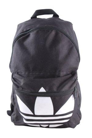 Adidas Schulrucksack schwarz-weiß Motivdruck Casual-Look