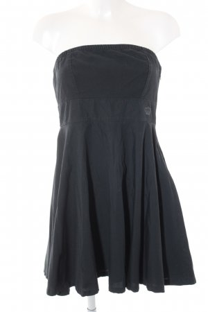 Adidas schulterfreies Kleid schwarz Casual-Look