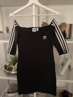 Adidas Mini Abito nero-bianco