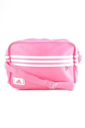 Adidas Bolsa de hombro rosa-blanco