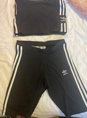 Adidas Sporttop zwart-wolwit