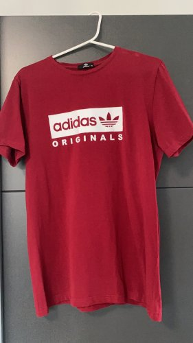Adidas Originals T-Shirt carmine-dark red
