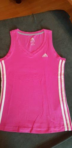 Adidas Originals Camisa deportiva rosa neón