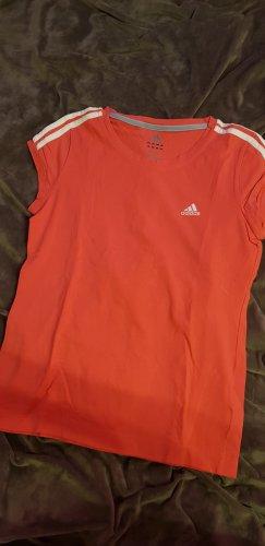 Adidas Originals T-shirt de sport rouge brique