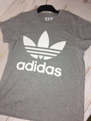 Adidas Top extra-large gris clair