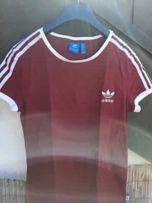 Adidas Camiseta burdeos