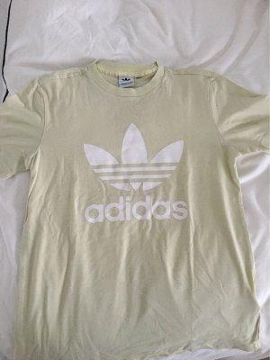 Adidas Camiseta amarillo claro