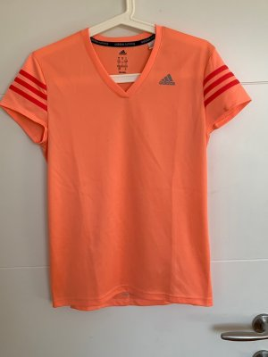 Adidas T-shirt de sport saumon-abricot