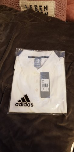 Adidas Originals T-shirt de sport blanc-argenté