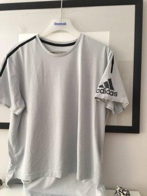 Adidas Shirt climachill s m l grau Orginal leicht Sport Running 36/38/40 oversize Damen